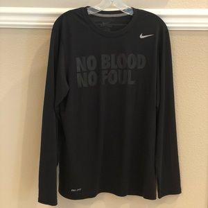 Nike NO BLOOD NO FOUL. Lightweight Dri-Fit Top